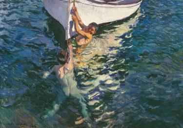 """Bote Blanco"" (1905), Joaquín Sorolla"