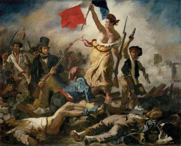 """""""La Liberté guidant le peuple"""" (1830), Eugène Delacroix"""