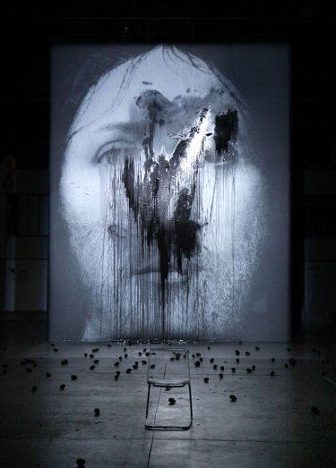 """""""Sur le Concept du Visage du Fils de Dieu"""" (2011), Romeo Castellucci"""