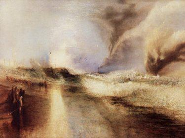 """Rockets and Blue Lights"" (1852), Joseph Mallord Turner"
