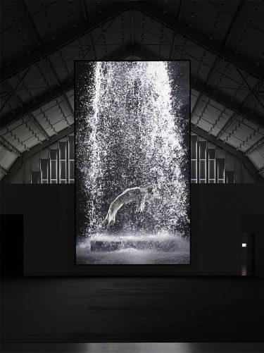 """Tristan's Ascension"" (2005), Bill Viola"