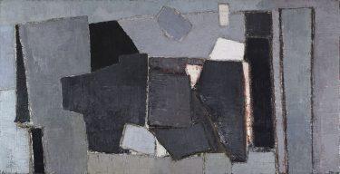 """""""Composition"""" (1950), Nicholas de Stael"""