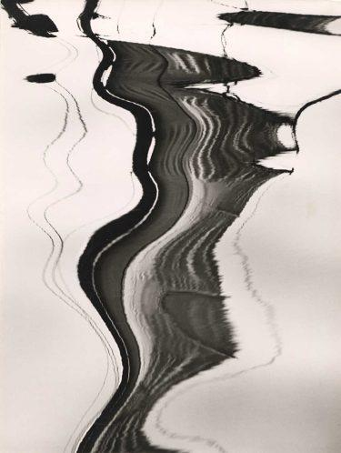 """Water Reflection"" (1950s), Siegfried Lauterwasser"