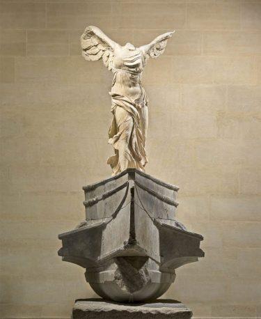 """Winged Victory of Samothrace"" (c. 200–190 BC)"
