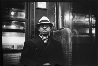 Walker Evans, Subway Portrait.