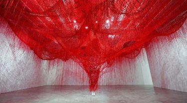 """Me Somewhere Else"", Chiharu Shiota"
