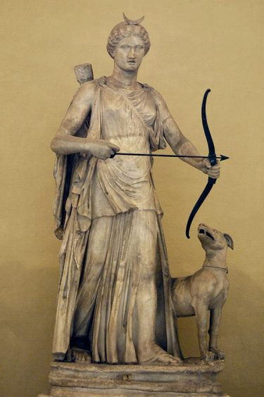 """Artemis and her hound"", Vatican Museum"
