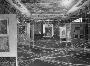"""""""Mile of String"""", Marcel Duchamp"""